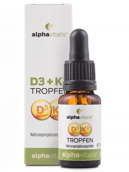Vitamin D3 + K2 Tropfen