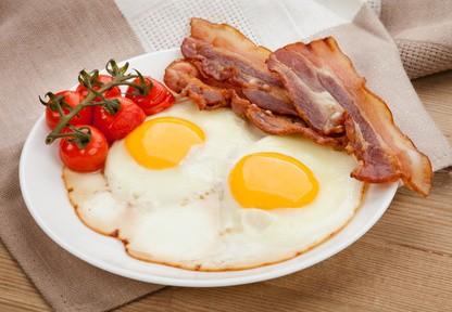 Eier-mit-Bacon