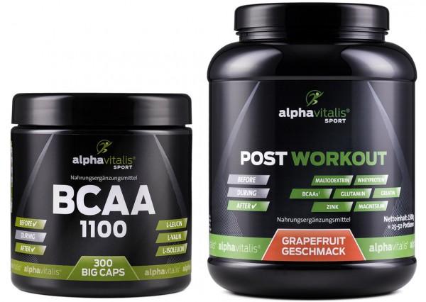 Pre Workout + Post Workout