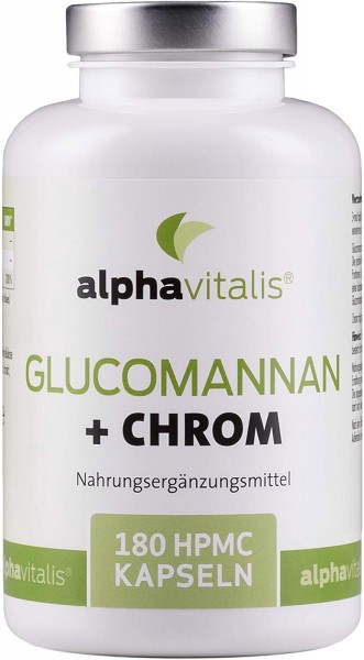 Glucomannan + Chrom