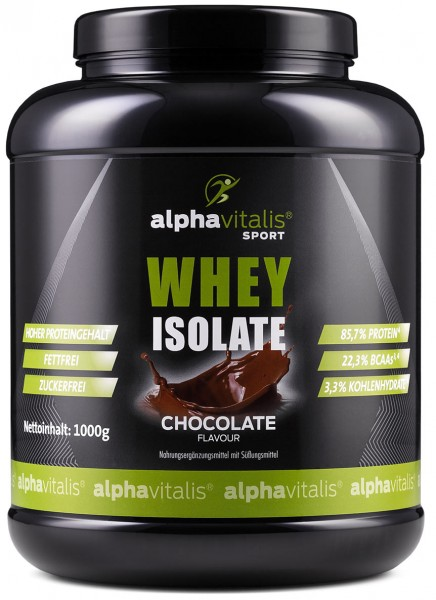 Whey ISOLATE Schoko