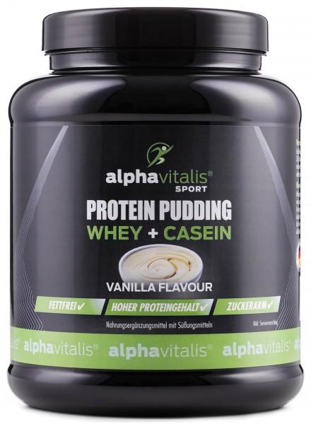 Vanilla Protein Pudding - Enthält Casein und Whey
